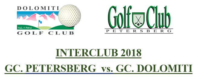INTERCLUB GC DOLOMITI - GC PETERSBERG Interclub Petersberg Dolomiti