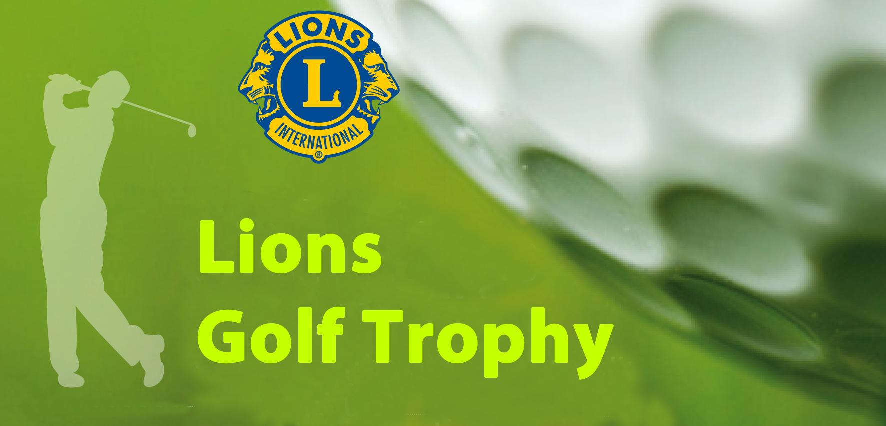 LIONS GOLF TROPHY - LIONS CLUB BOZEN / LAURIN Lions Golf Trophy