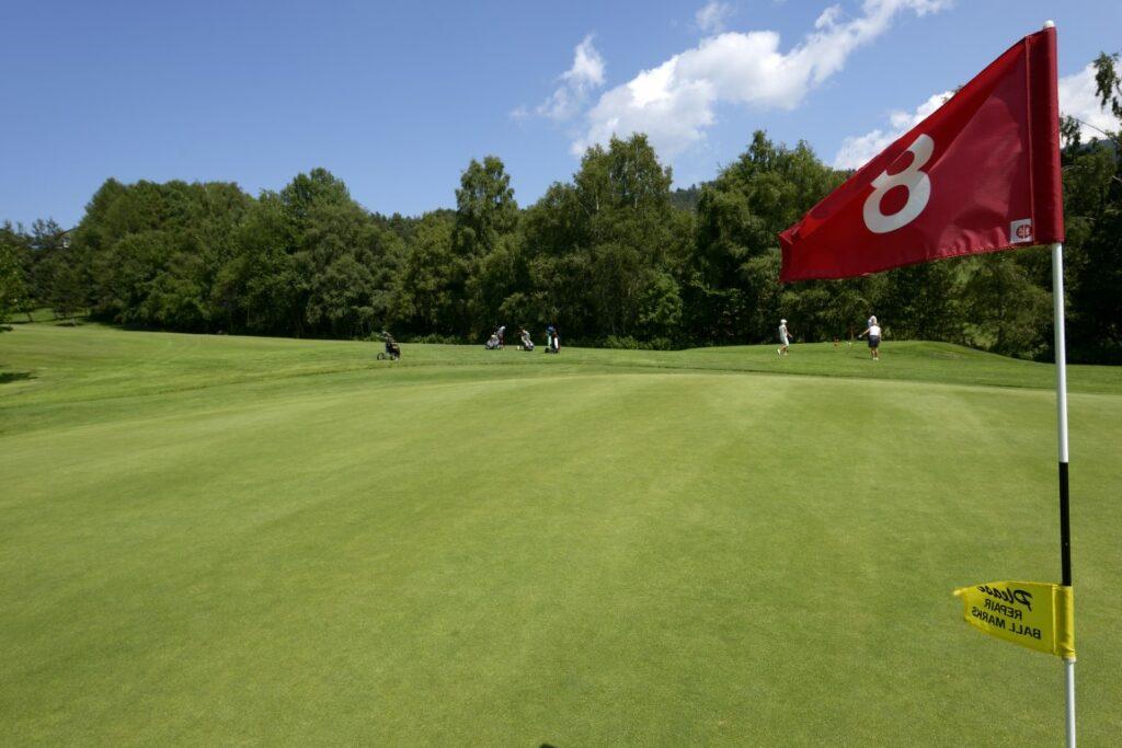 Golfclub Petersberg Green 8 Mittel