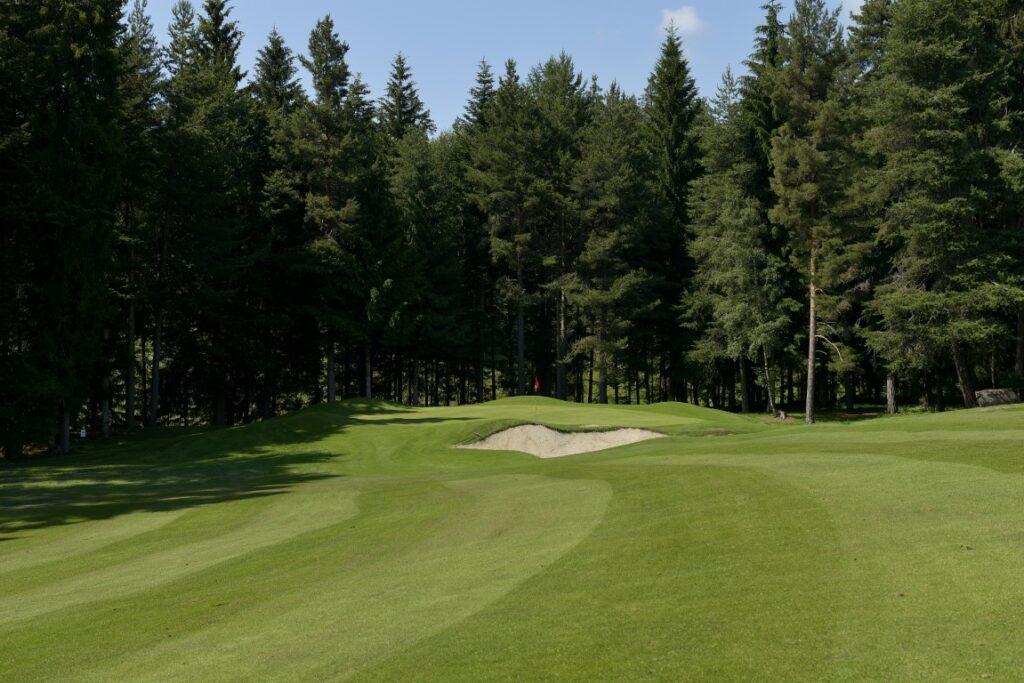 Golfclub Petersberg Hole 13 Mittel