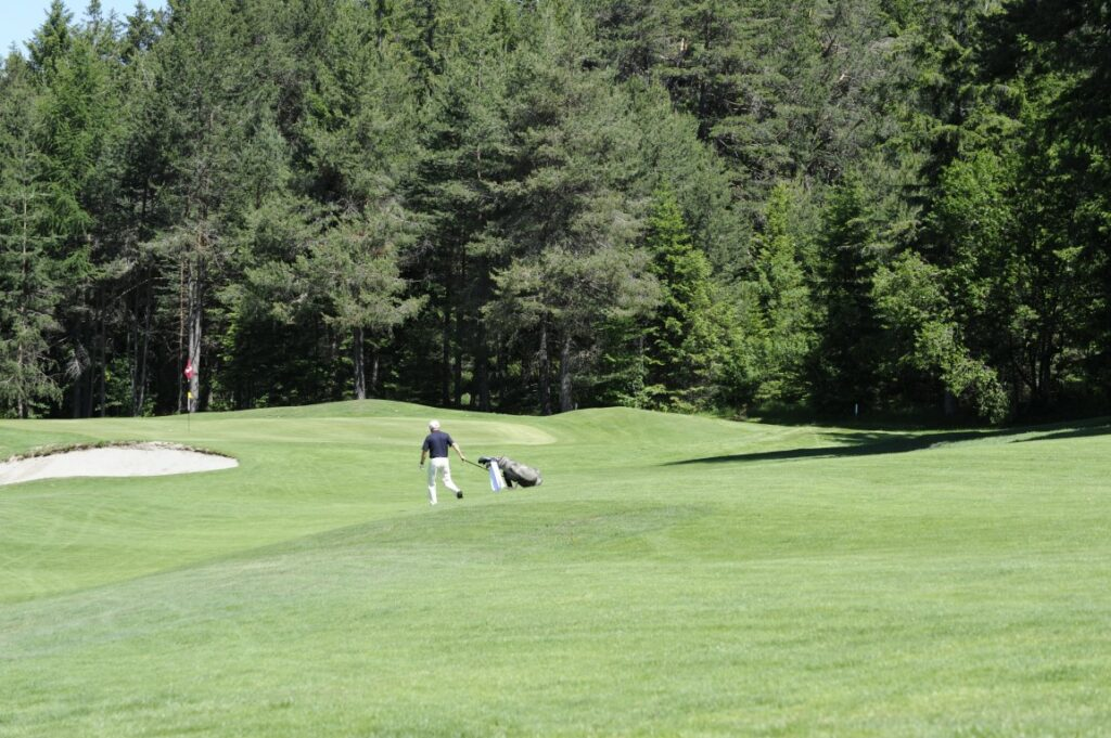 Golfclub Petersberg Hole 2 Mittel