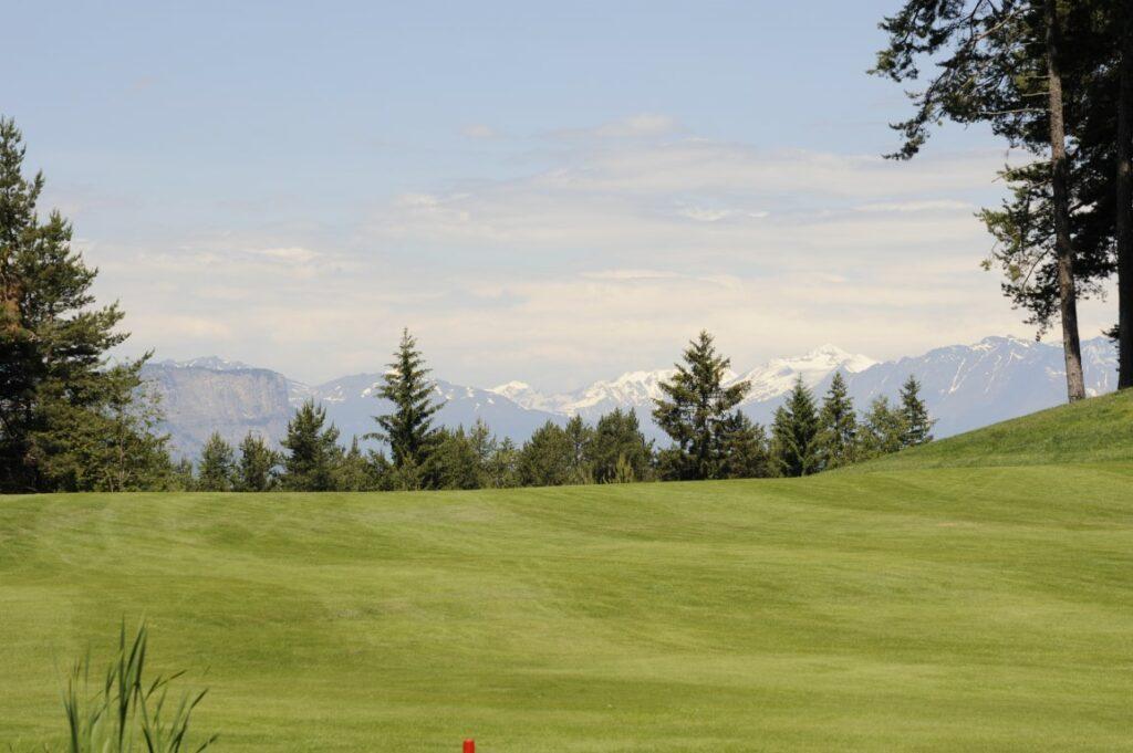 Golfclub Petersberg Loch 2 Mittel