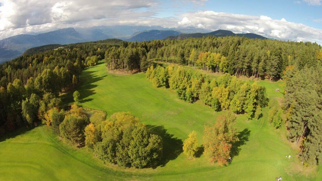 Golfclub Petersberg Luftfoto 1 Mittel