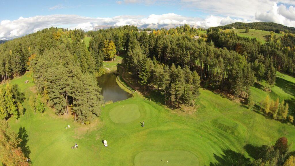 Golfclub Petersberg Luftfoto 2 Mittel