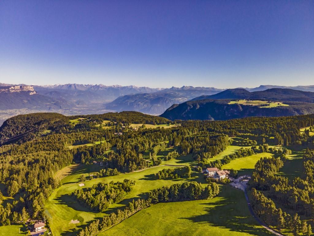 Golfclub Petersberg Luftfoto 3 Mittel