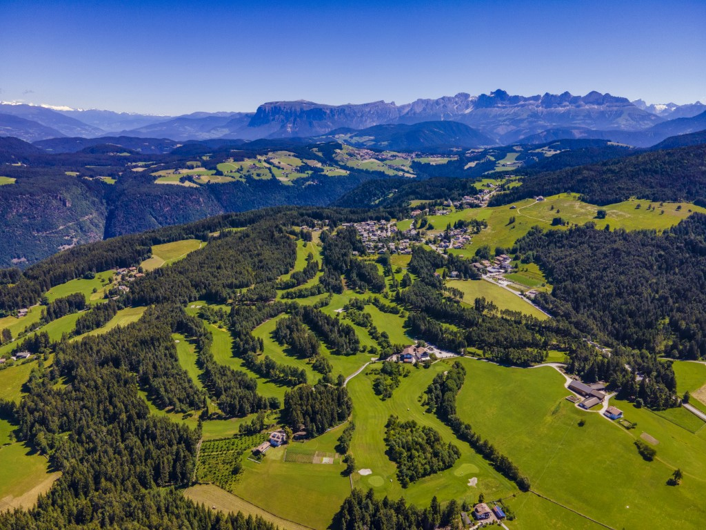 Golfclub Petersberg Luftfoto 4 Mittel