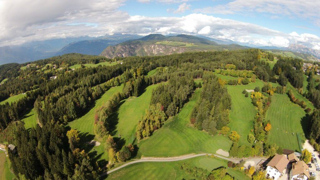 Golfclub Petersberg Luftfoto 5 Mittel