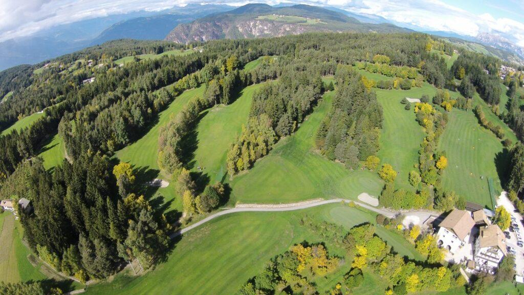 Golfclub Petersberg Luftfoto 6 Mittel
