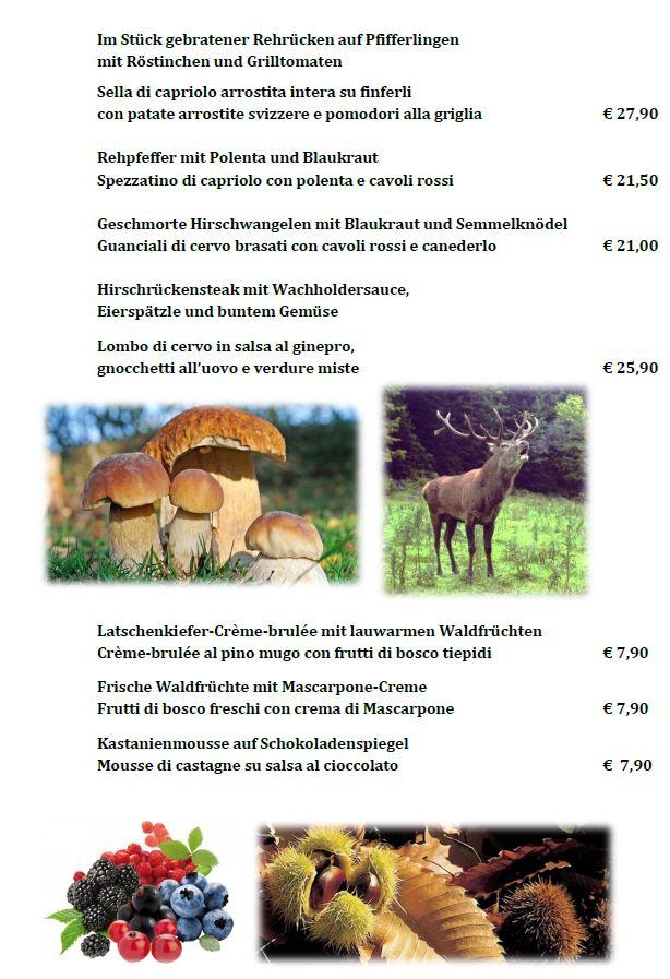 Restaurant Wildwochen 2